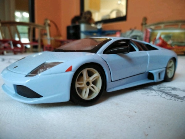 Used Blue Lamborghini Murcielago Metel Car Collection For Sale In