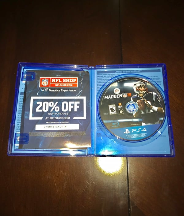 Madden PS4 Bundle (16,17, and 18) 0fcb2acd-ee21-410e-8848-b1c626b8cd69