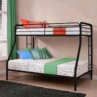 (BIG SALE) TWIN OVER FULL ELEGANT METAL BUNKBEDS Edmonton, T6M 0L6