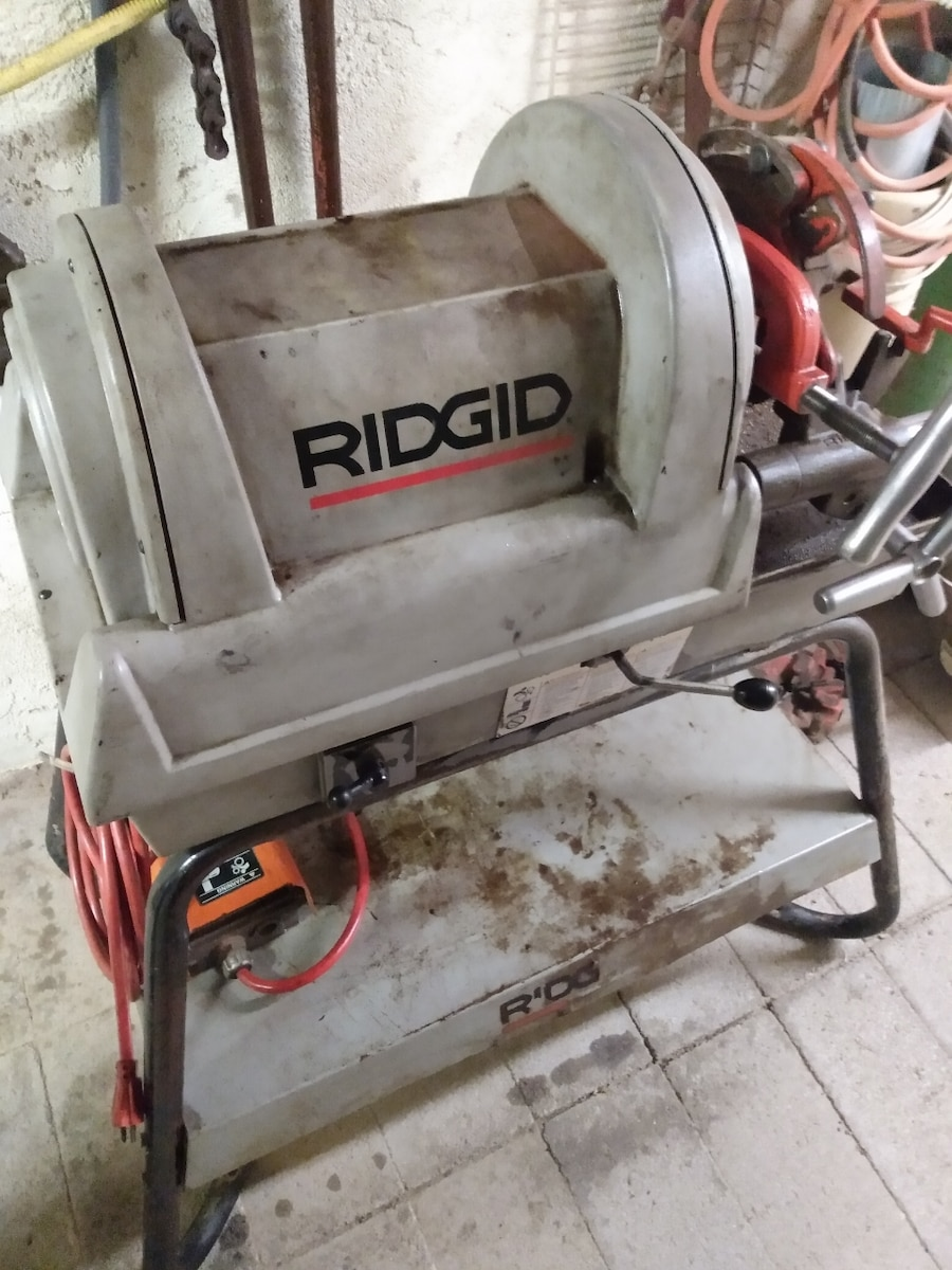 Photo Rigid 1822 power Vice