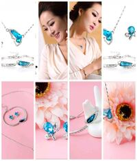 Beautiful Butterfly Jewelry Set Germantown, 20876