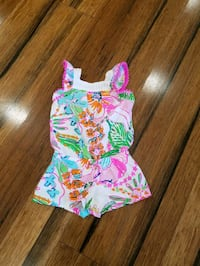 Lilly Pulitzer baby romper size 12 months  Mount Pleasant, 29466