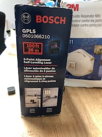 BOSCH 5-point self leveling alignment laser  Huntington Station, 11746