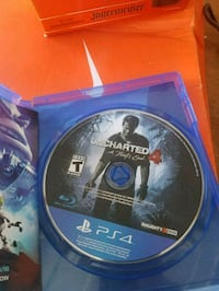 PS4 Uncharted 4 game disc El Paso, 79928