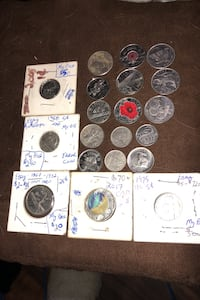 Coin collection circulated some rare ones  Edmonton, T5G 1S4