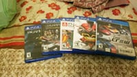 FiveSony PS4 game cases Cleveland, 44105