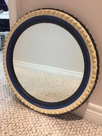 IKEA tire mirror white black and blue Mississauga, L5N 8H6