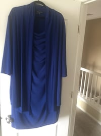 Women's blue dress w/attached jacket North Las Vegas, 89081