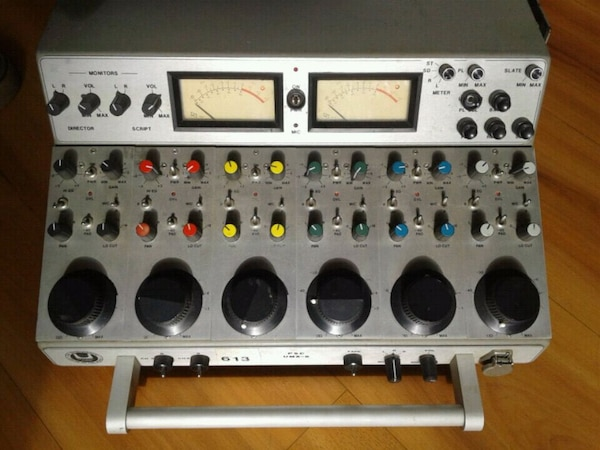 PSC Vintage 6 channel sidecar mixer