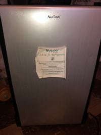 White and black arcelik single-door refrigerator Dearborn Heights, 48127