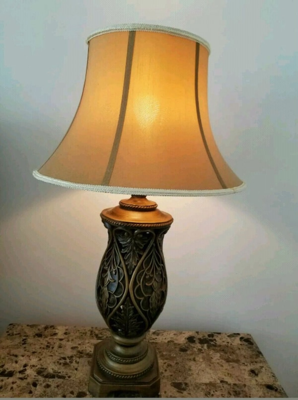 Used Ashley Furniture Large Lamps Got A Pair 2 For Sale In New York