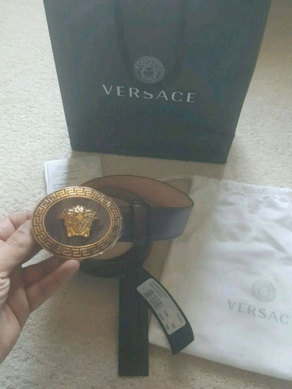 Versace belt - Louis Vuitton Gucci Fendi Balenciaga Givenchy 0