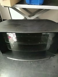 42 inch tv stand with glass shelves Brampton