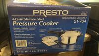 Presto Pressure Cooker 4 Quart. Great for boiling lentils or cooking tough meats   Germantown, 20874