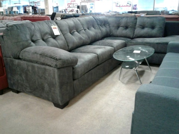 Ashley fabric sofa sectional