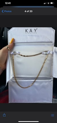10K yellow gold chain from Kay's asking $350 OBO Gainesville, 20155