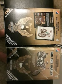 Harley davidson collectable cards series 2 and 3