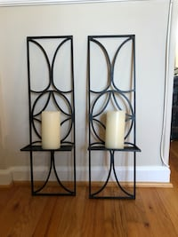Wall Sconces with Candle Holder