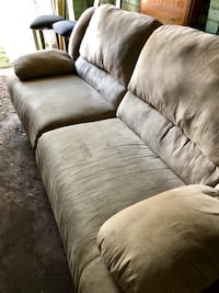 Brown fabric 3-seat sofa Gainesville, 32601