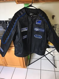 Classic leather motorcycle jacket size xxl Manassas, 20110