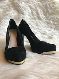 Black Heels Size 7.5 Moscow, 83843