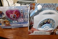 Frozen sing along boom box and beauty kit  Theodore, 36582