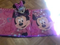 Mickey Lamp and 1 pair of curtains Chickasaw, 36611