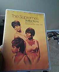 The Supremes Reflections DVD case