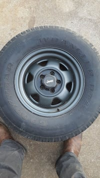 4 Jeep willy's wheels  Maryville