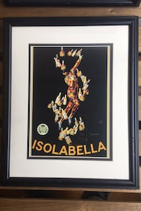 ISOBELLA - framed vintage advertisement