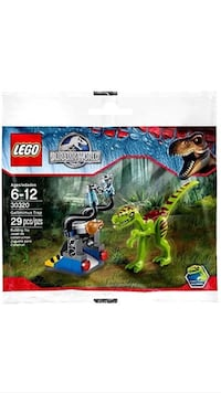 Lego Jurassic World Gallimimus Trap Polybag #30320 New Sealed Dallas, 75254