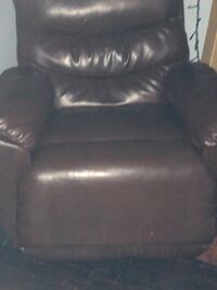 Brown Leather Recliner chair Detroit