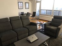 Electric sofa and reclining chair  Toronto, M2K 2J8