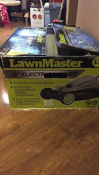 Gray and green lawnmaster mower box Milton, L9T 5L5