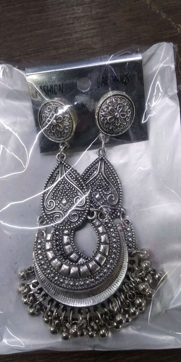 New earings. Big sized. Jhumka 724b85ab-f8e0-4d82-a62d-a4cdb0b02ece