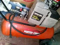 red and black Craftsman air compressor 15g with ho Augusta, 30906