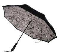 NEW - GIFTABLE***Betterbrella Automatic Reverse Open/Close Umbrella with Matching Carry Bag Hamilton
