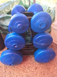 Full set of weights with stand Orangeville, L9W 1K6
