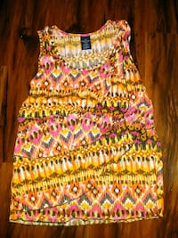 women's multicolored sleeveless dress Abilene