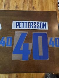 Elias Pettersson name and number kit