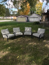 Patio chairs super comfortable , delivery possible 702 mi
