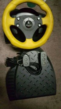 yellow and black car steering wheel game controller London, N6E 2B2