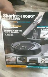 Shark ion Robot cleaning system