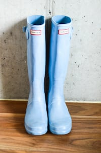 Women's Original Tall Rain Boots: Vivid Blue Size 10- $40 ASHBURN