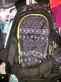 black and grey backpack Bloomington