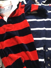 Baby boy 6-9 month Polo onsies Mississauga, L5E 2X3