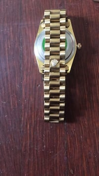 Silver and gold bracelet watch Hagerstown, 21740