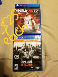 Sony PS4 Dying Light game case Donna, 78537