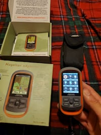 Gps for hiking runs on double a batteries I've never used it