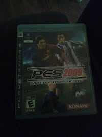 PES 2013 PS3 game case Indio